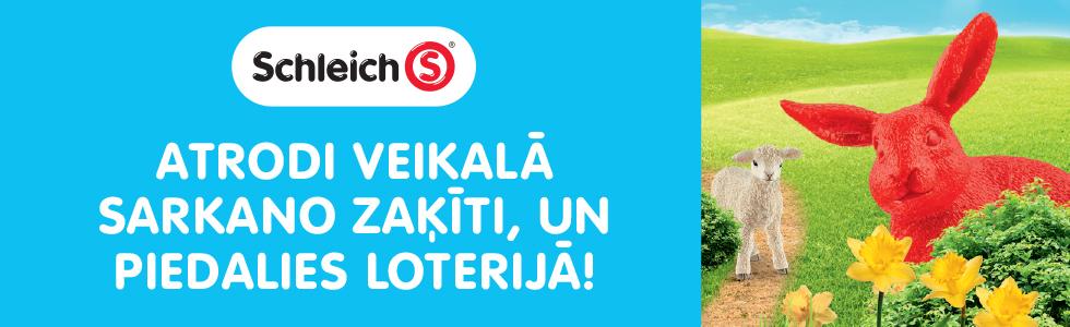 Schleich zaķītis loterija